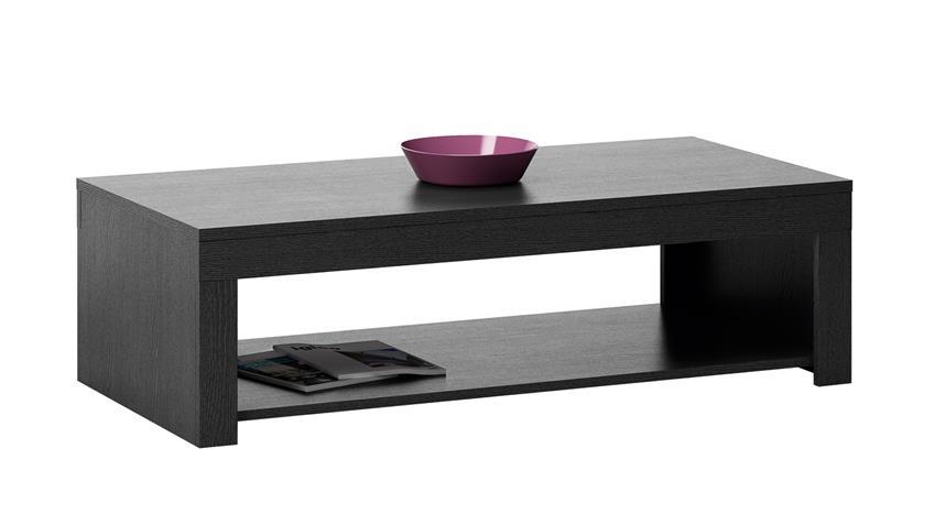 Couchtisch RUBIS Beistelltisch Tisch Ebenholz braun 110 cm