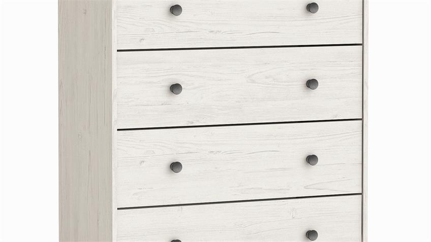 Kommode COPENHAGUE Sideboard Andersen Kiefer in weiß