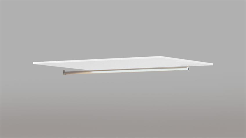 Einlegeboden ESPACE Zubehör für Schrank in weiß rauh