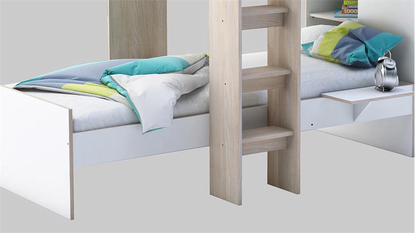 Etagenbett mit schrank beste bildideen zu hause design - Etagenbett interio ...