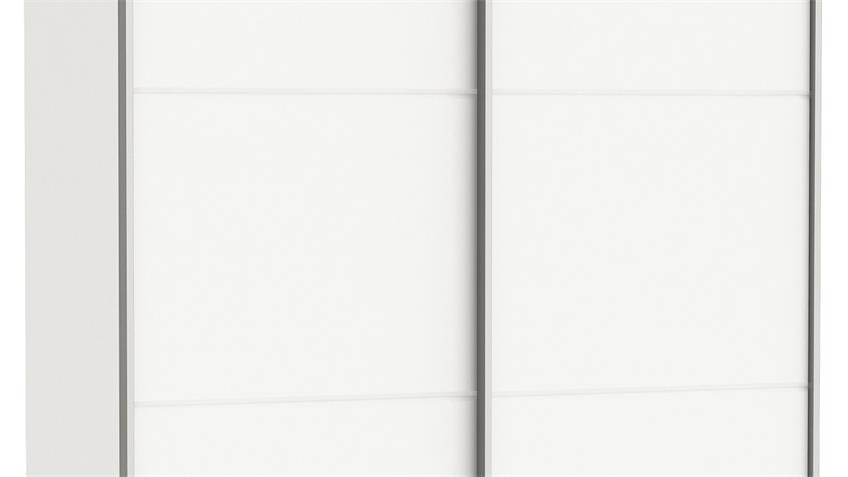 Schwebetürenschrank FAST 2 in Perle weiß B 120 cm