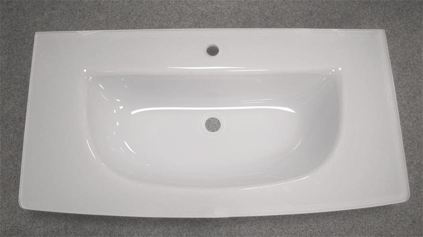 Glaskeramik Waschbecken SPIRIT 80 Badezimmer Becken