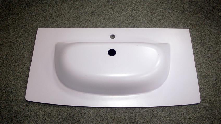 Waschbecken Glaskeramik Spirit 80 Badezimmer Becken