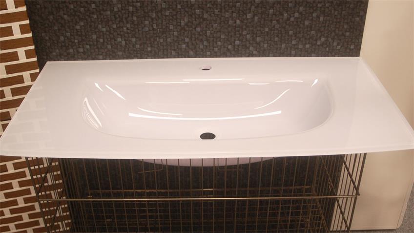 Glaskeramik Wachbecken SPIRIT 100 Badezimmer Becken