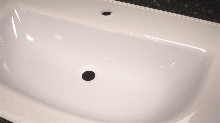 Waschbecken Glaskeramik Spirit 100 Badezimmer Becken