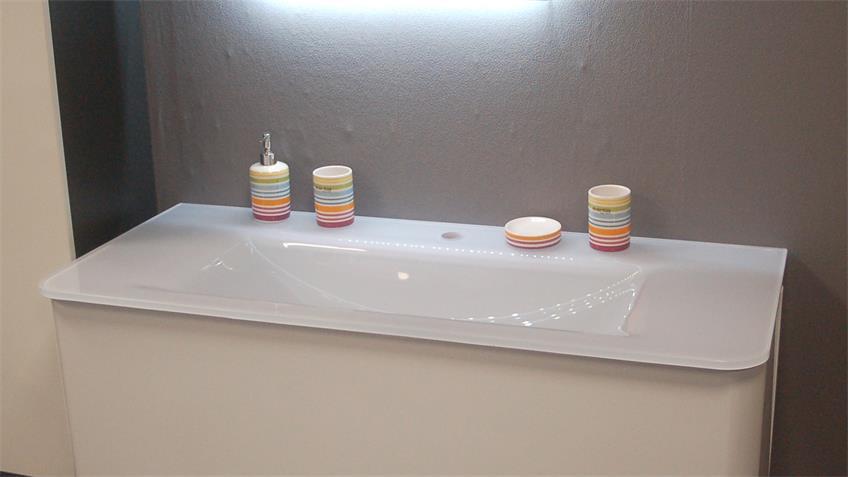 Glaskeramik Waschbecken MODUS 120 Badezimmer Becken