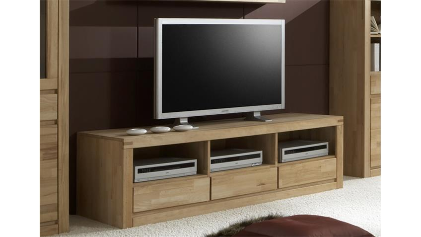 TV-Board DELFT 6208 Kernbuche massiv, Oberfläche geölt
