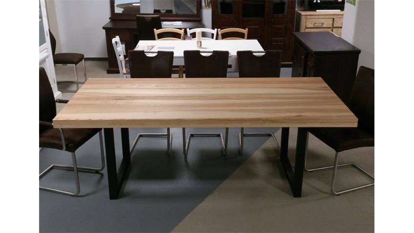 Esstisch 7561 Tisch Esszimmertisch Esche massiv 220x100 cm