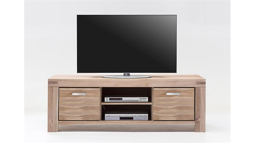 tv kommode 2 kira tv board in wildeiche massiv bianco. Black Bedroom Furniture Sets. Home Design Ideas
