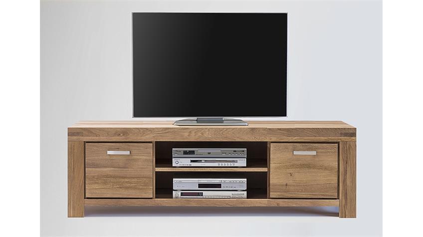 TV-Kommode 3 KIRA TV-Board in Wildeiche massiv geölt