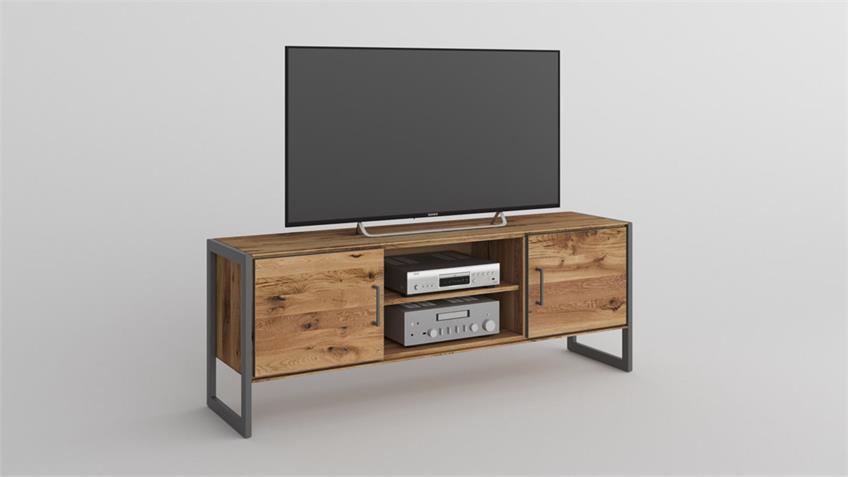 TV-Board 2277 JANNE Lowboard in Eiche furniert 168 cm