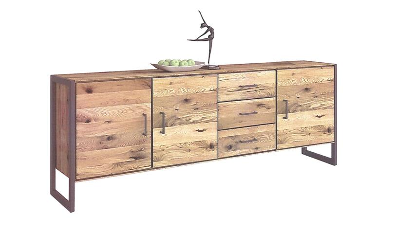 Sideboard 2278 JANNE Kommode in Eiche furniert 218 cm