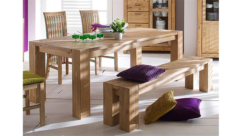 tischgruppe victoria akazie massiv sand ge lt und gek lkt. Black Bedroom Furniture Sets. Home Design Ideas