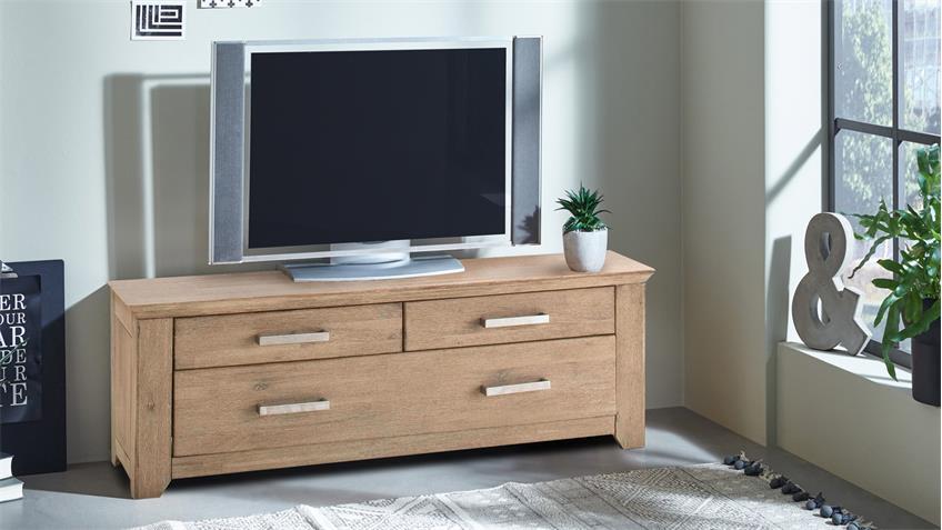 Lowboard VALENCIA TV-Board Akazie massiv