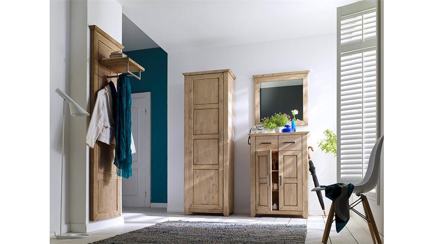 garderobenset valencia garderobe flurm bel in akazie massiv ge lt. Black Bedroom Furniture Sets. Home Design Ideas
