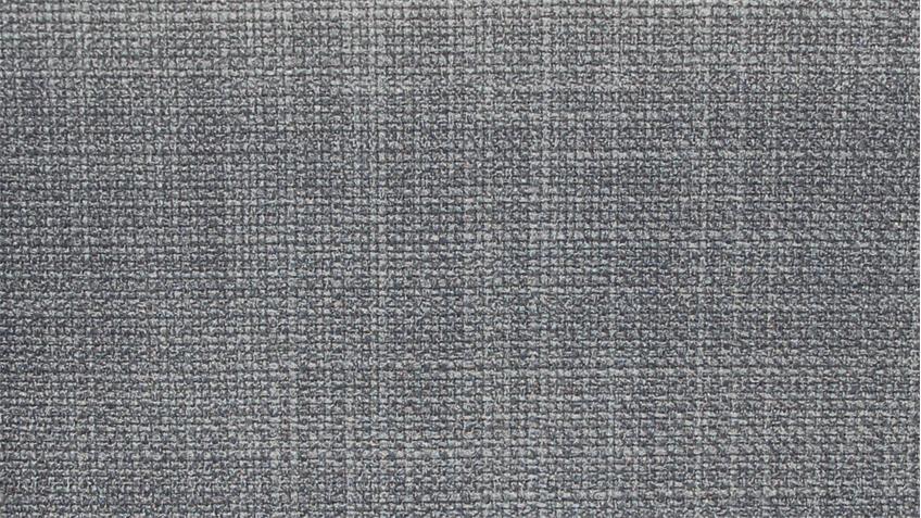 Boxspringbett COUTURE Stoff silber mit Kopfteil Topper 180x200 Femira