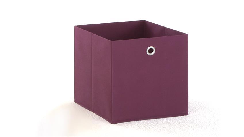 Faltbox MEGA 3 Box Korb Regalkorb Schubkasten in lila