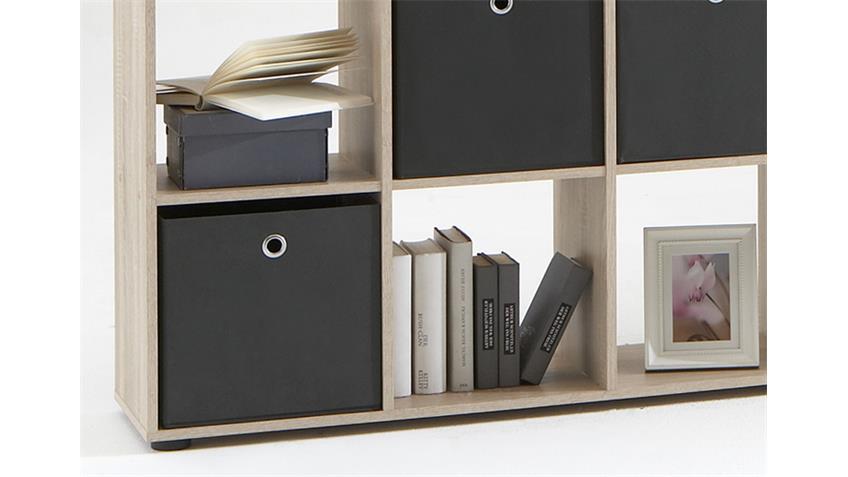 Raumteiler MEGA 5 Bücherregal Regal in Eiche Sonoma sägerau