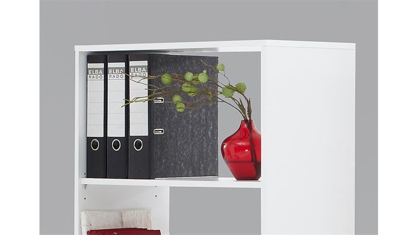 schreibtisch bente tisch regal schreibtisch kombi in wei. Black Bedroom Furniture Sets. Home Design Ideas
