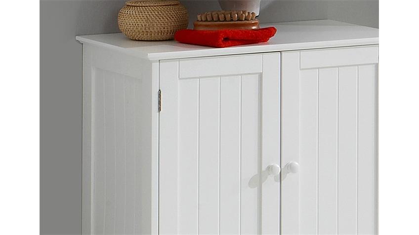 Waschbeckenunterschrank STOCKHOLM Weiß Lack