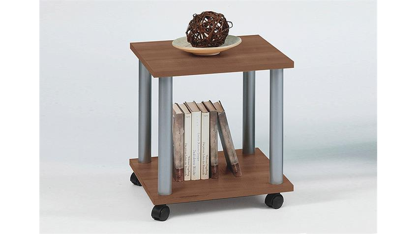 Beistelltisch JANGO 11 Tisch in zwetschge mit Zwischenboden