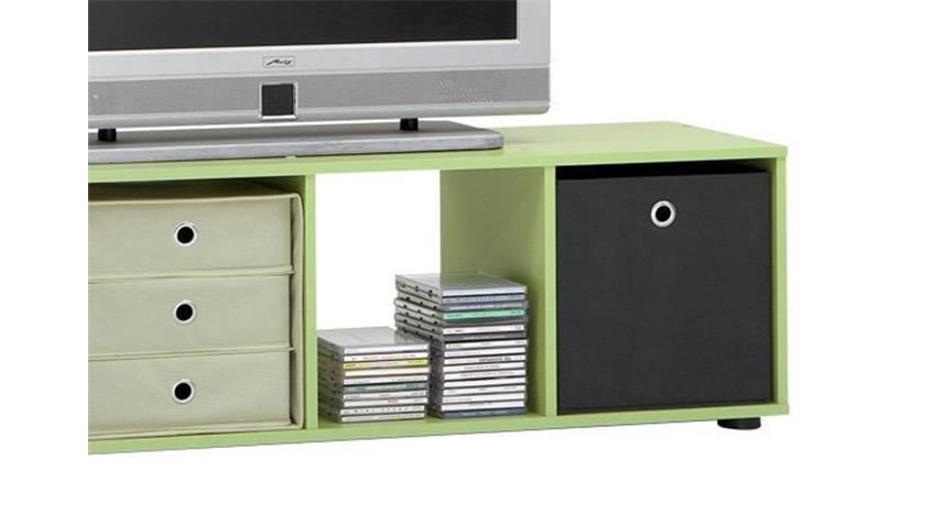 Raumteiler MEGA 4 Bücherregal Regal in pastellgrün 4 Fächer