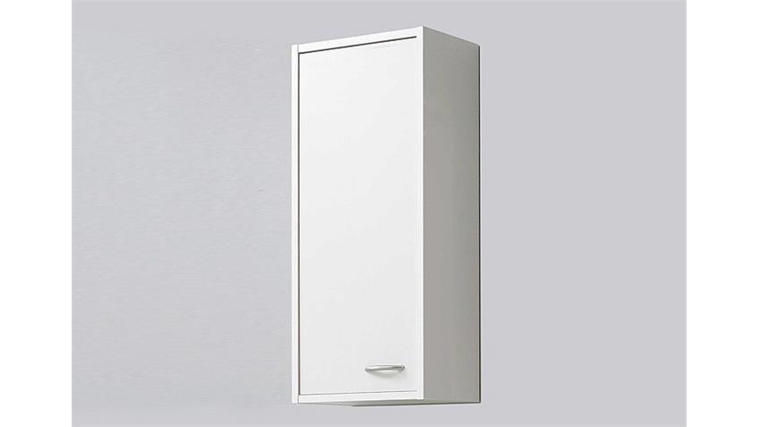 Hängeschrank MADRID 1 Badezimmerschrank in weiß mit Tür