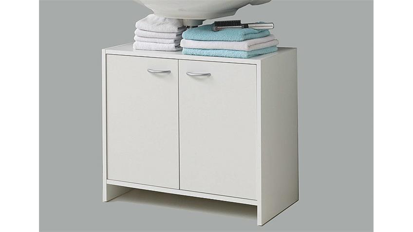 Waschbeckenunterschrank MADRID 7  in Weiß für das Bad