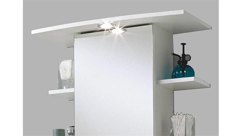 Spiegelschrank MADRID 8  in Weiß inklusive Beleuchtung