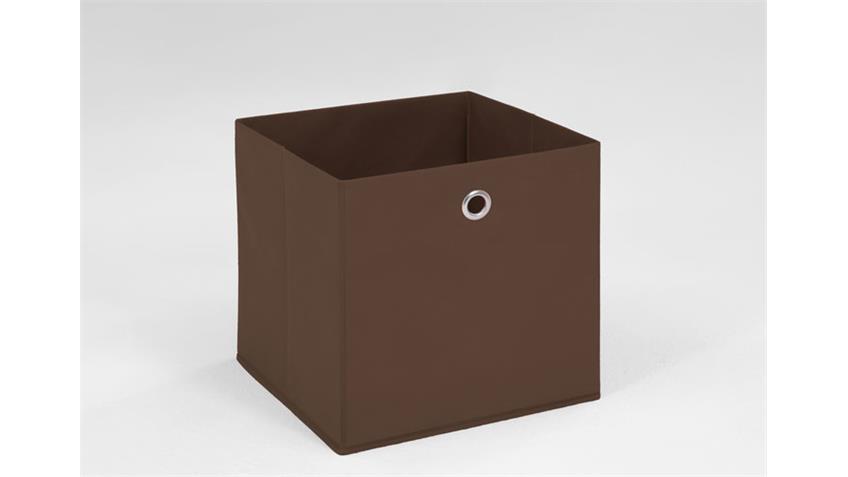 Faltbox MEGA 3 Box Korb Regalkorb Schubkasten in braun