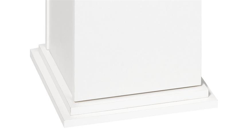 Dekosäule ESSEX 2 Blumensäule Regal in weiß