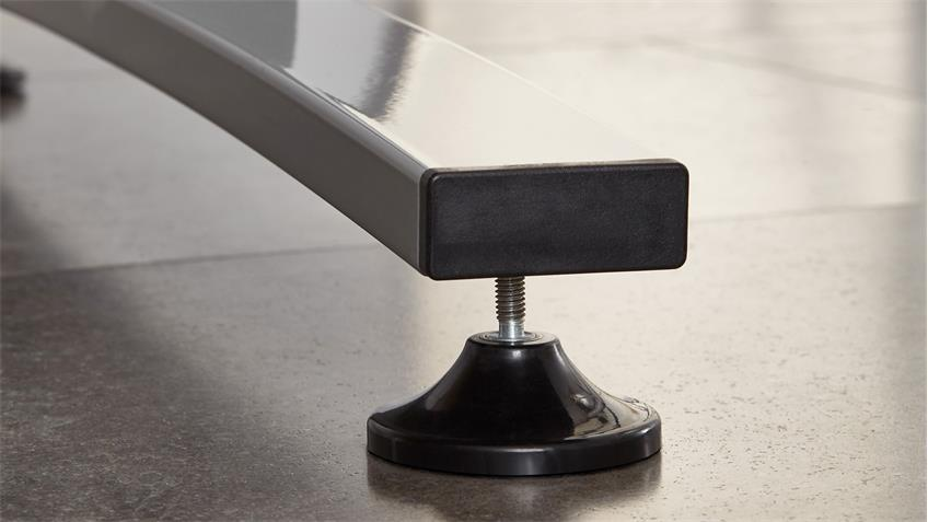 Winkelschreibtisch CALVIA Schreibtisch Winkeltisch Alteiche 240x200 cm