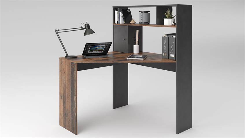 Eckschreibtisch BARRY'S Old Style Matera Schreibtisch