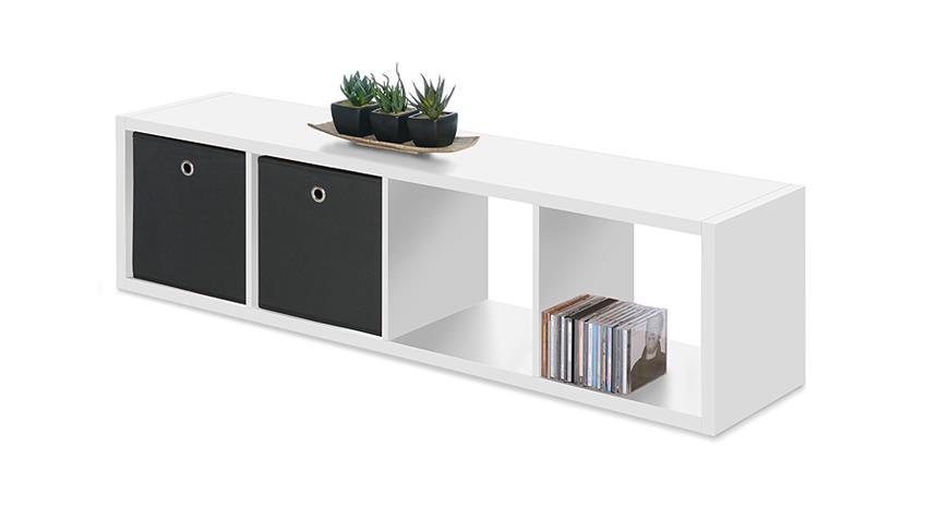 regal max 4er s ule raumteiler in wei dekor 4 f cher. Black Bedroom Furniture Sets. Home Design Ideas