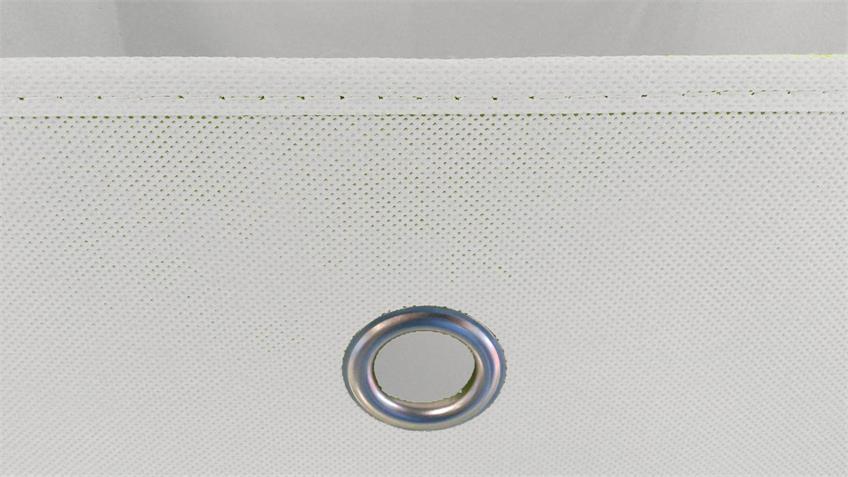 Faltbox 4er Set Korb Aufbewahrungs Box weiß 32x32x32 cm
