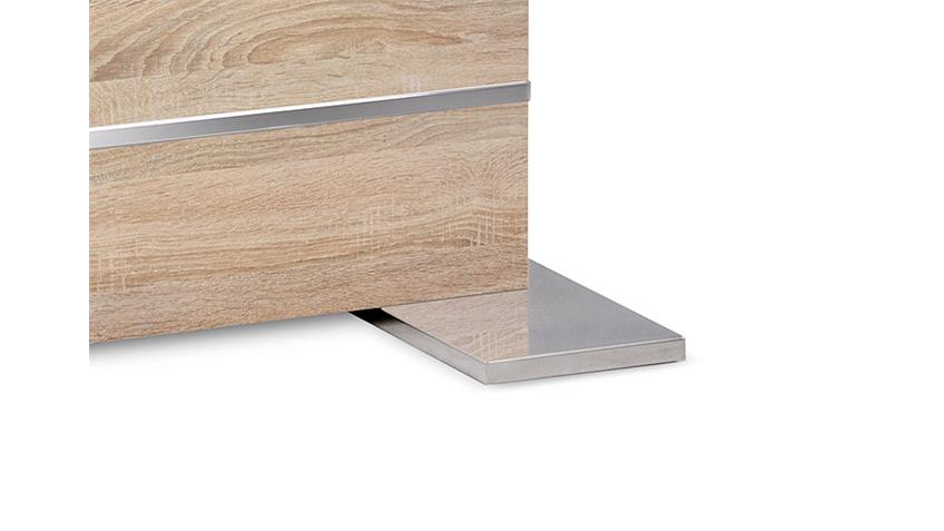 Tisch MANTOVA Sonoma Eiche ausziehbar 160-200x90 cm