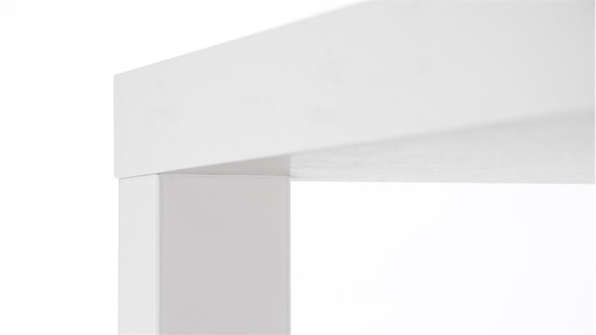 Esstisch PRINO Tisch Küchentisch in weiß Hochglanz Lack 140 cm