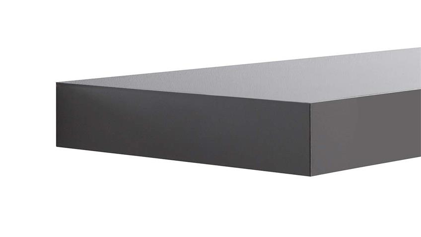 Wandboard TUNA LACK in grau Hochglanz lackiert 60 cm