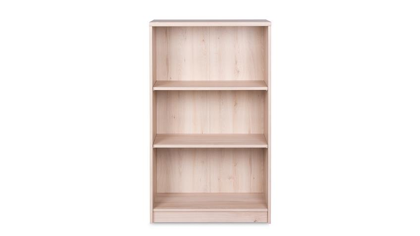 Regal KIEL 22 Bücherregal in Edelbuche mit 3 Fächern
