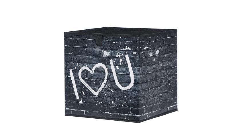 Faltbox FLORI 1 Aufbewahrungsbox Wall 32x32x32 cm