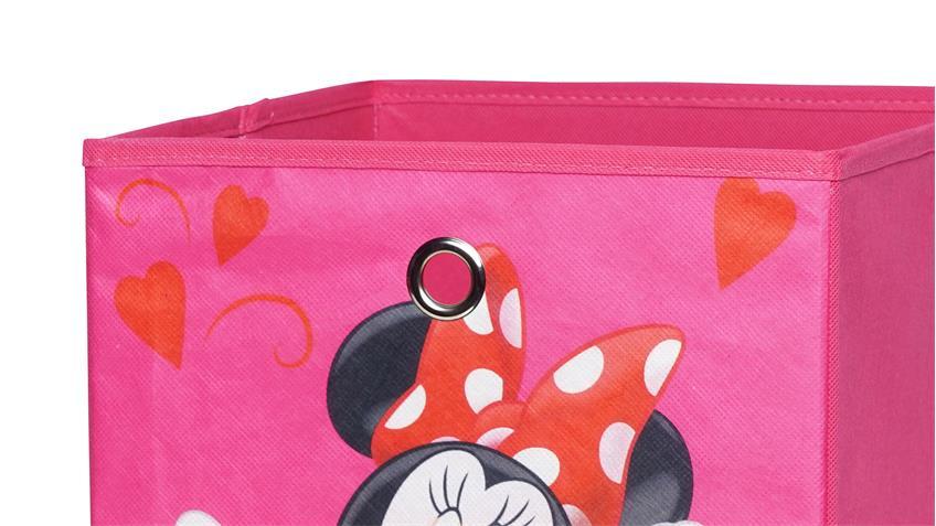 Faltbox FLORI 1 Faltkiste Disneybox Minnie 32x32x32 cm