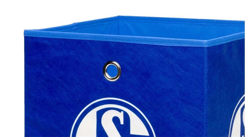 FC Schalke 04 Faltbox Flori Aufbewahrungsbox Bundesliga