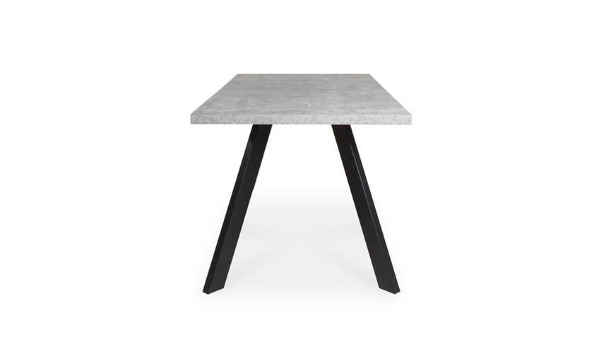 Esstisch MARBURG Küchentisch Tisch Beton und anthrazit