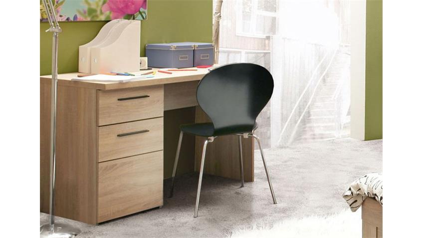 Schreibtisch COMBINO Sonoma Denver Eiche Wenge