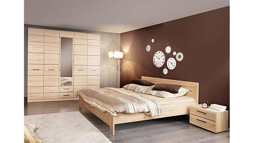 Schlafzimmer-Set COMBINO 3 Sonoma Denver Eiche Wenge