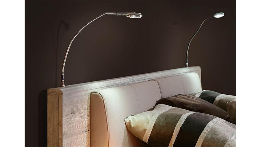Leseleuchten RONDINO Leuchten weiß 2er Set für Bettanlage