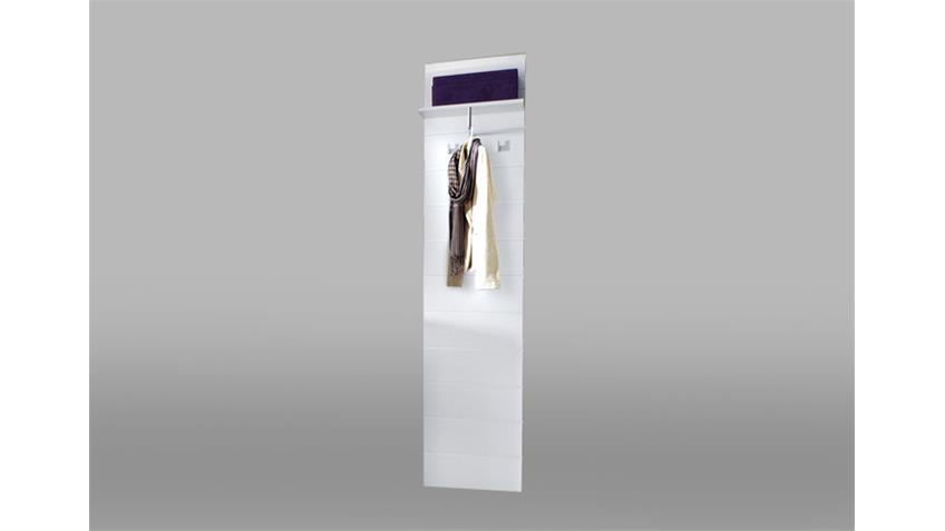 Kleiderpaneel POLAR Wandpaneel Paneel in weiß Hochglanz