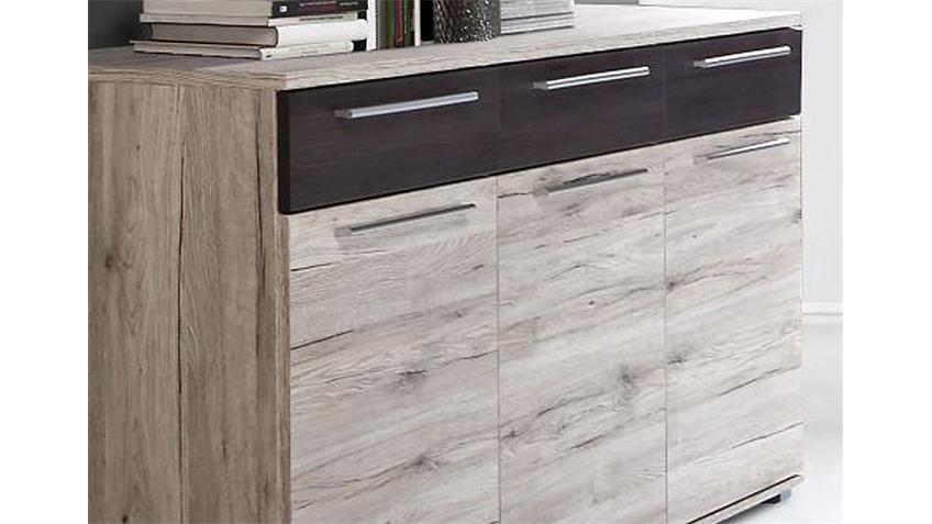 Sideboard ALLISTER Kommode Anrichte Sandeiche Touchwood