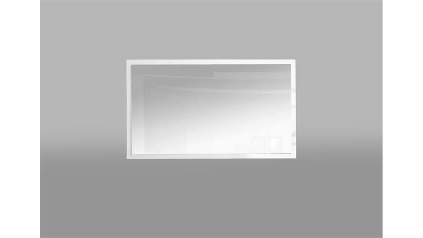 Spiegel SLATE Wandspiegel Garderobenspiegel weiß matt