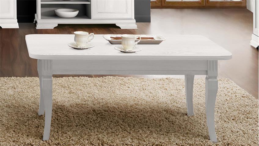 couchtisch avinion wohnzimmertisch in schnee eiche wei 120x70 cm. Black Bedroom Furniture Sets. Home Design Ideas